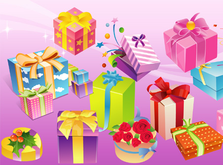 Misc objects free gift vector download free vectors graphic design misc objects free gift vector negle Images