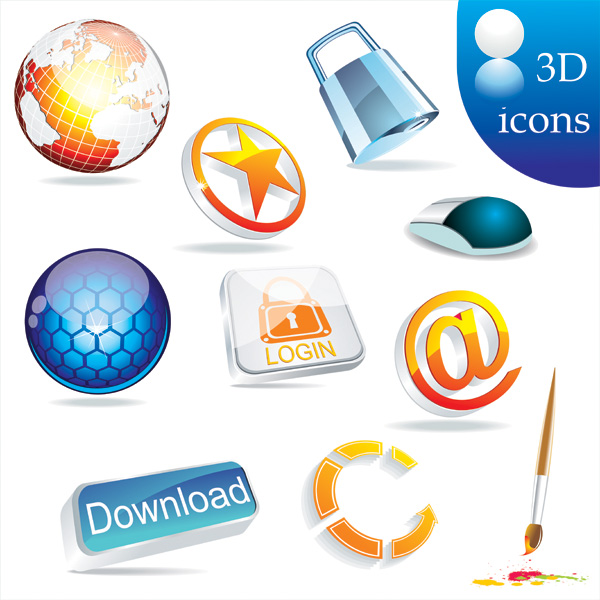 3D Icons2
