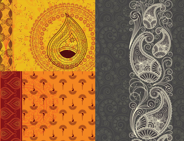 india pattern background download free vectors graphic