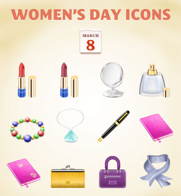 Womens-Day-Icons