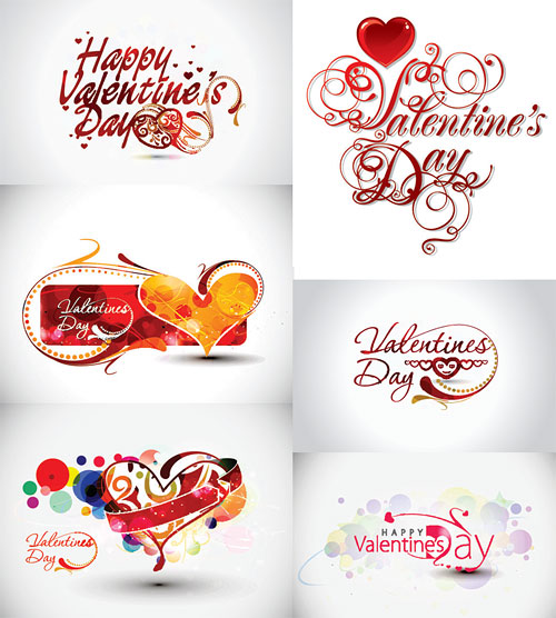 Valentines Day Vector Art. Valentine-Day-Theme-Vector