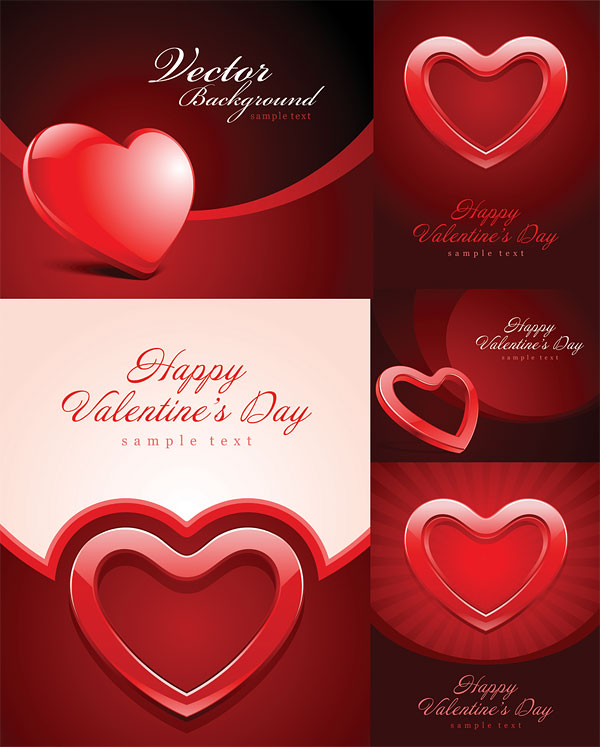 valentine's-day-heart-vectors