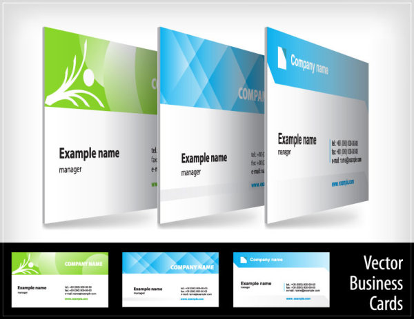 Creative business cards vectors part 1 download free vectors business cards vectors reheart Choice Image