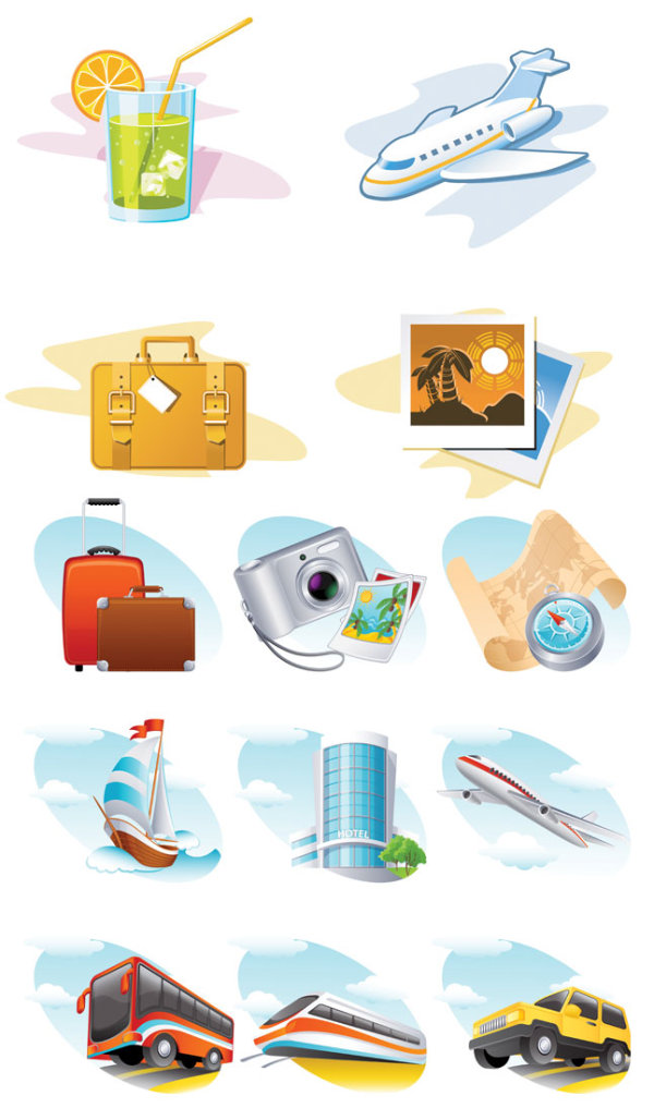 Travel-topic-icon-vector
